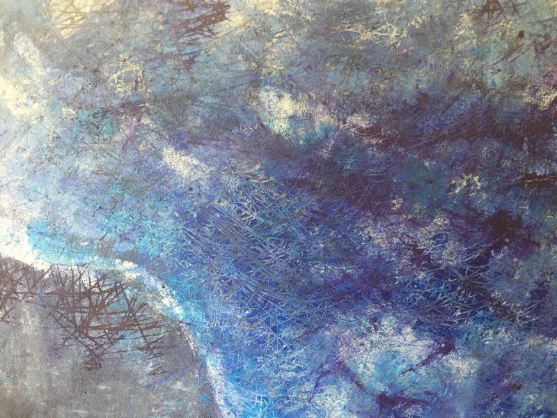 La mer III, 50x70, olej, 2017